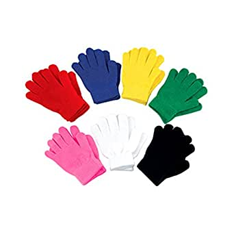 Amazon.com: FoMann Kids Magic Gloves Children Knit Gloves