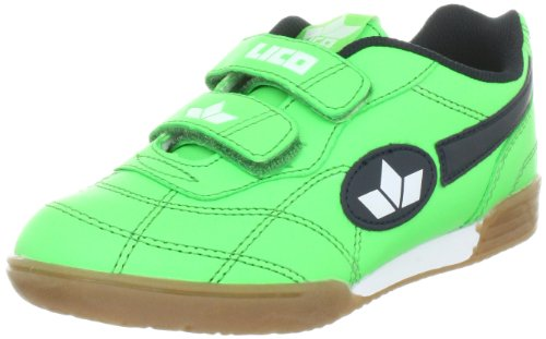 Lico Bernie V 360322, Scarpe sportive ragazzo, Verde (Grün (gruen/marine/weiss)), 38