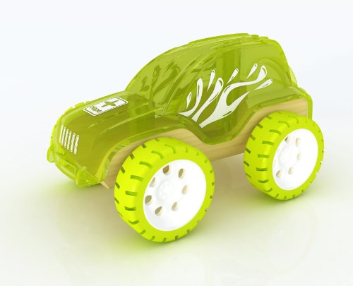 Hape Bamboo Mini Trailblazer - 1