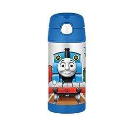 (再降)膳魔师Thermos Funtainer Bottle Thomas the Train托马斯小火车真空杯$22.72