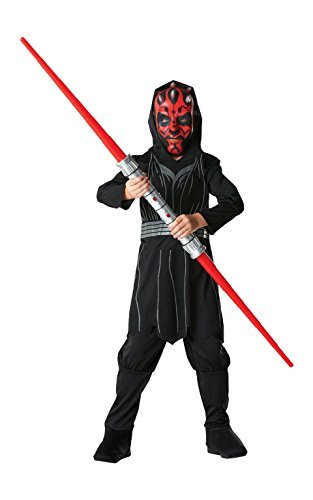 Darth Maul - Star Wars - Childrens Costume - Grandi - 128 centimetri