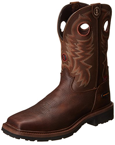Tony Lama Men'S Grizzly W/P Comp Toe Western Boot,Briar,10 D Us