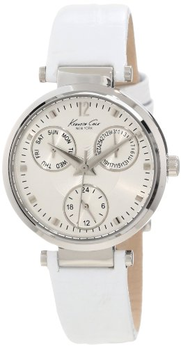 Kenneth Cole New York Women's KC2761 Dress Sport Silver Multi-Function Watch