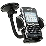 Universal Car Mount Holder for CellPhones, MP3 Player, Apple iPhone 4, HTC EVO 4G, HTC Incredible