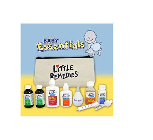 Little Remedies Baby Essentials Kit With Travel Bag - Everything They Need, Nothing They Don'T! front-972907