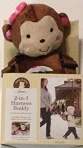 Carter's Child of Mine 2 in 1 Harness Buddy Pal Monkey, Girl