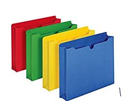 Reinforced Double-Top Tab File Jackets By [IN]PLACE®, 2\