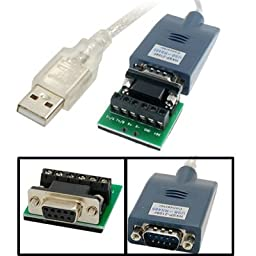 USB 2.0 to RS-485 RS485 Serial Adapter Converter