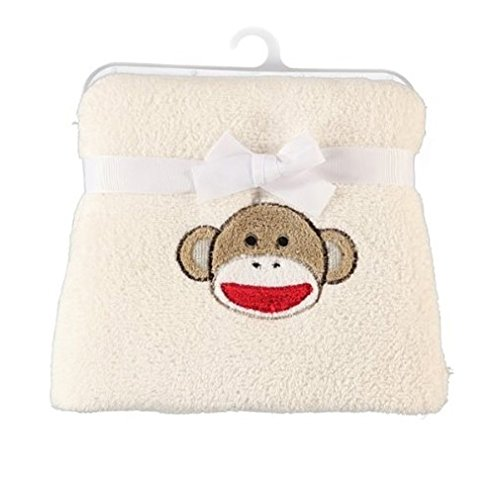Baby Starters Unisex-Baby Newborn Novelty Blanket, Red/Tan, One Size (Discontinued by Manufacturer)