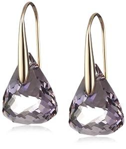 Swarovski Damen-Ohrhänger Lunar Crystal Blush Swarovski Kristalle 1054614
