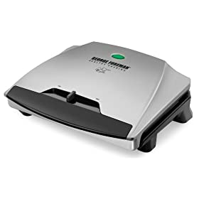 George Foreman GR1080P Temp to Taste 72 Square Inch Variable Temperature Indoor Contact Grill
