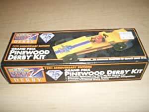 Grand Prix Pinewood Derby Kit - 75th Anniversary Edition