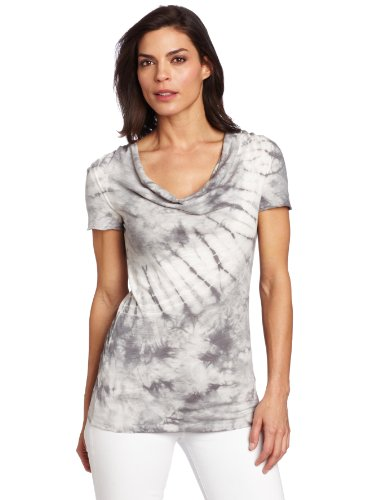 Calvin Klein Performance Women's Short Sleeve Cowl Neck Tee