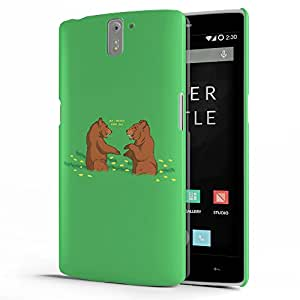 Koveru Designer Protective Back Shell Case Cover for OnePlus One - But I bearly know you