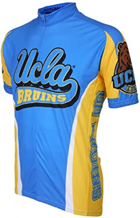 NCAA UCLA Bruins Cycling Jersey by Adrenaline Promotions