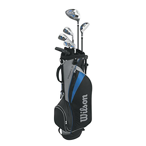 Wilson Men's Profile Junior Complete Package Golf Set, Right Hand, Blue, Large (Profile Golf compare prices)