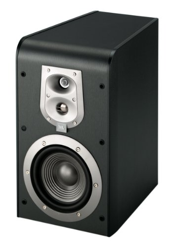 JBL ES20 High-Performance 3-Way Bookshelf Speakers (Black, Pair)