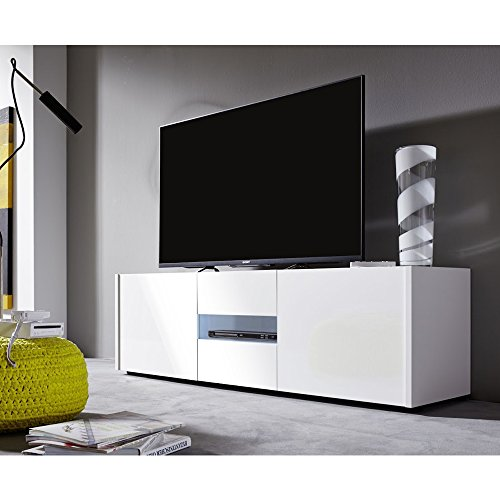 kommode hochglanz weiss 150 cm preisvergleiche. Black Bedroom Furniture Sets. Home Design Ideas