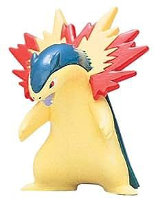 Takaratomy Takara Tomy Pokemon Monster Collection Mini Figure 1.5 Typhlosion / Bakphoon