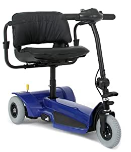 Mega Motion 3-Wheel Travel Pal Scooter, Blue