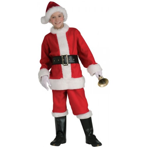 Santa Claus Suit Costume - Medium