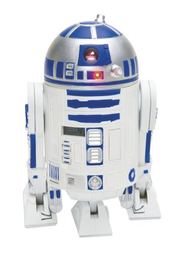 Star Wars - Clone Wars Jugend-3d-Wecker in Plastik mit R2-D2 Sounds -  21324