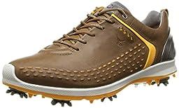 ECCO Men\'s Biom G2 Golf Shoe, Carmel/Fanta, 47 EU/13-13.5 M US