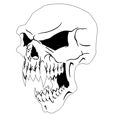 Amazon.com: VAMPIRE SKULL 3- AIRBRUSH STENCIL-AIR BRUSH TEMPLATE