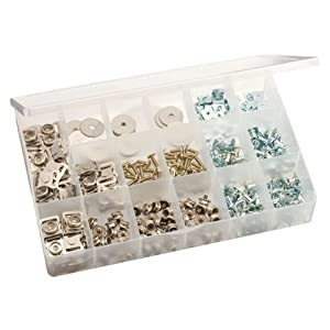Football Helmet Hardware Value Pack with 50 Pieces by Pro Down