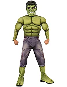 Hulk Deluxe - Avengers Age of Ultron - Childrens Fancy Dress Costume