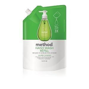 Method Gel Hand Wash Refill 34oz, Cucumber