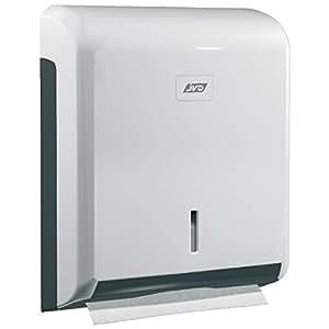 CleanLine ZIG-ZAG Papierhandtuchspender aus ABS Kunststoff