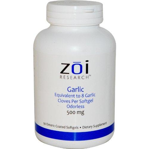 Garlic, 500 Mg, 90 Enteric Coated Softgels