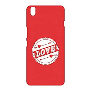 OVERSHADOW DESIGNER PRINTED BACK CASE COVER FOR ONE PLUS X
