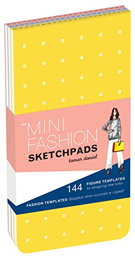 Mini Fashion Sketchpads (Stationery)