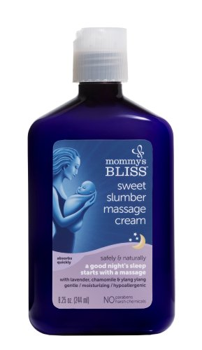 Mommy's Bliss Sweet Slumber Massage Cream, 8.25 Fluid Ounce - 1