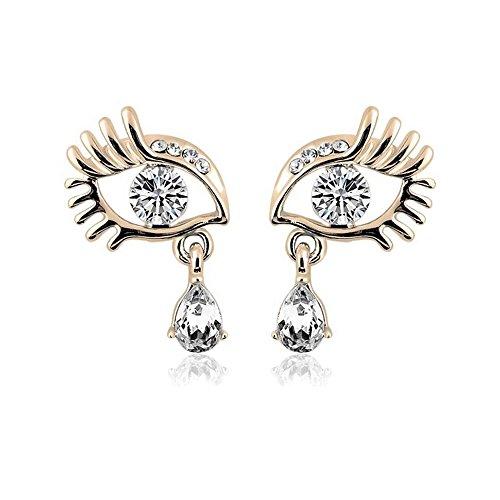 darkey-wang-woman-fashion-unique-crystal-eyelashes-eyes-sparkling-earrings