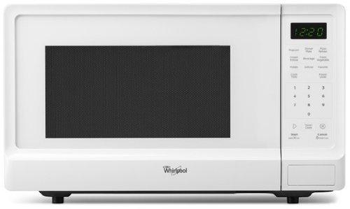 Whirlpool WMC10511AW 1.1 Cu. Ft. White Countertop Microwave ...