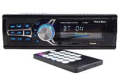 SoundBoss SB-6261 Bluetooth Wireless With Phone Caller Id Receiver Car Media Player(Single Din)