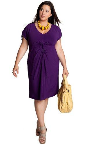 Buy IGIGI by Yuliya Raquel Plus Size Iliana Knot Dress
