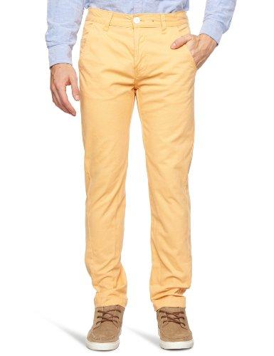 Bellfield MTRS-11178O Slim Men's Trousers Orange Sorbet W36 INxL32 IN