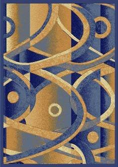 E514 Contemporary Modern Transitional Abstract Light Blue 8x10 8ft 10ft Rug Carpet Actual Size 7'9