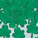 Fanci-Fetti Shamrocks (green) Party Accessory  (1 count) (1 Oz/Pkg)