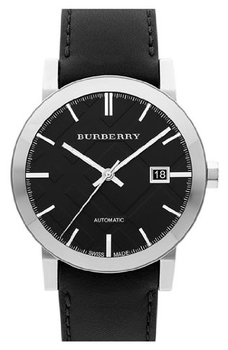 Burberry BU9302 Watch City Mens - Black Dial Stainless Steel Case Automatic Movement