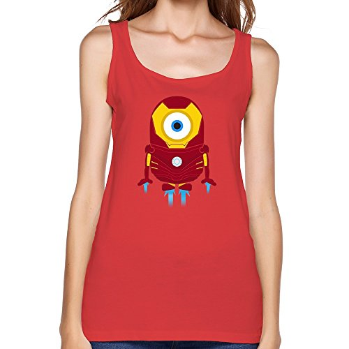 WAYNEY Lady The Avengers Tony Stark Iron Man Despicable Me Minions Tanks
