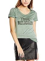 True Religion Camiseta Manga Corta (Verde)