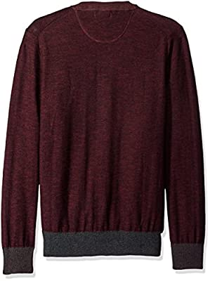 Calvin Klein Jeans Men's Block Ck Logo Color Block Crew Neck Shirt