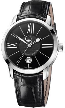 Ulysse Nardin Classico Luna Stainless Steel Watch