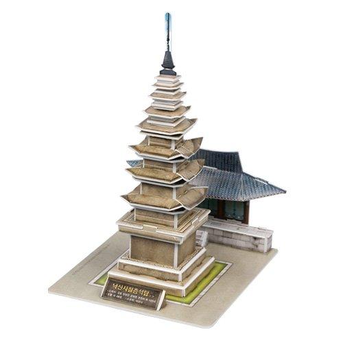 Jigsaw 3D Puzzle Korea Culture Series- Naksansa chilcheungseoktap - 1
