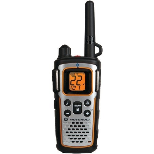 Motorola MU354R 35-Mile Range 22-Channel FRS/GMRS Two Way Bluetooth Radio (Grey)